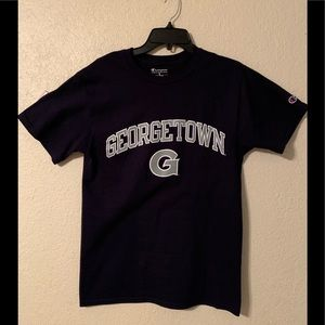 Georgetown Hoyas CHAMPION brand t-Shirt size small